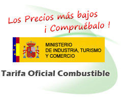 Tarifas combustible oficial.